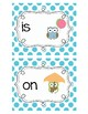 Owl Themed Sight words Flashcards For Kindergarten: