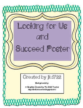 Owl Themed Succeed and Looking for Us Posters