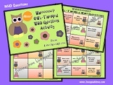 Owl-Themed WHO Questions Activity