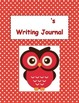 Owl Themed Writing Journal - Pre Primer
