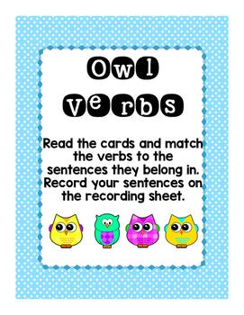 Owl Verbs