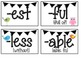 Bird and Owl Themed Prefixes and Suffixes