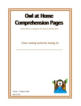 Owl at Home Across the Curriculum
