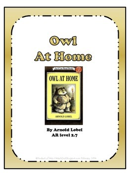 Owl at Home - poke cards