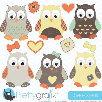 Owl clipart commercial use, vector graphics, digital clip