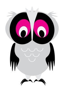 Owl print/ graphic
