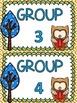 Owl themed B.U.I.L.D. Math Centers Organization & Rotation