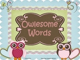 Owlesome Words