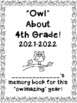 Owlmazing Year Memory Book - Owl Themed End of the Year Book!