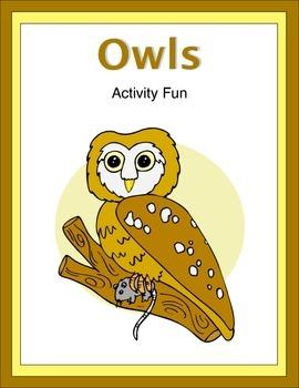 Owls Activity Fun