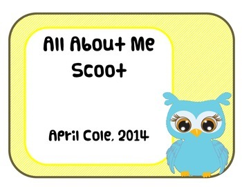Owls All About Me Scoot