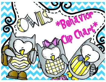 Owls Behavior Clip Chart