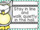 Owls Manners and Expectations Posters