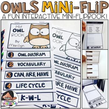 Owls Mini-Flip