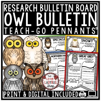 Owls Research • Owls Research Activity • Owls Activity TEA