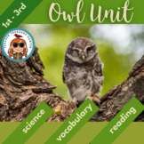 Owls Science & Literacy ~Owl Activity Unit - 2 non-fiction