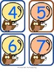 Owls 'n' Balloons Classroom Number Line