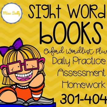 Oxford Sight Word Books 300-404 ---For daily practice and