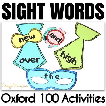 Oxford Words Practice - Masquerade 1-100