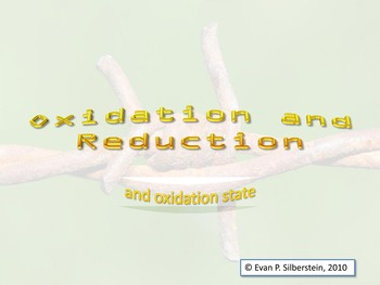 Oxidation and Reduction: Finding the Oxidation State