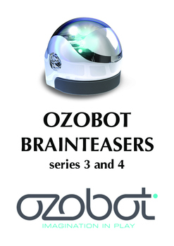 Ozobot Brain Teaser series 3 and 4