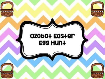 Ozobot Easter Egg Hunt