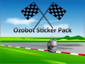 Ozobot Quick Coding Printable Sticker Pack