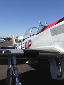 P-51 Fighter Plane WWII World War II