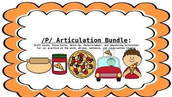 /P/ Articulation Activity Bundle