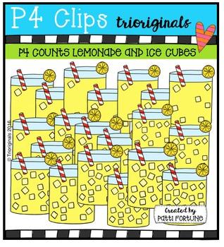 P4 COUNTS Lemonade & Ice Cubes (P4 Clips Trioriginals Digi