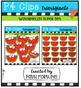 P4 SUPER SET Watermelons  (P4 Clips Trioriginals Digital C