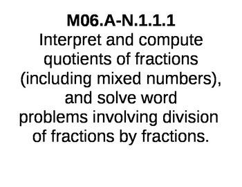 PA Common Core 6th Grade Math Standards