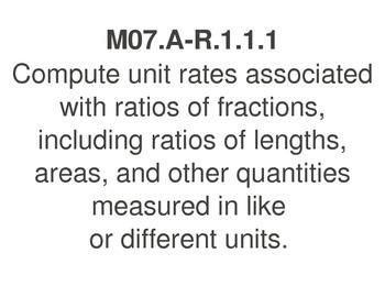 PA Common Core 7th Grade Math Standards