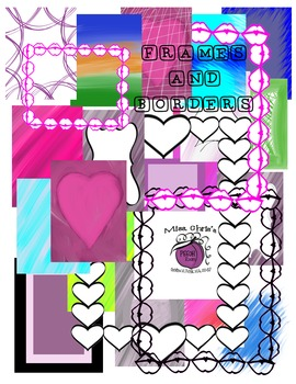 PAGES**BORDERS**FRAMES  {Spice up your cover pages}