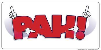 PAH! an ASL poster.