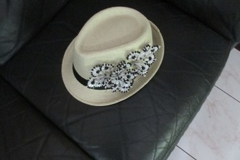 PANAMA HAT WITH 'TEMBLEQUES'