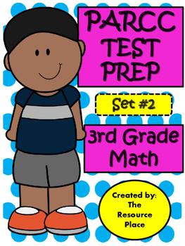 PARCC-Like Test Prep 3rd Grade Math- Set #2
