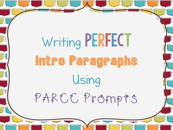 PARCC Bell Work Ppt: Practice Turning a Prompt Into an Int
