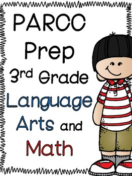 PARCC-Like 3rd Grade Math and Language Arts