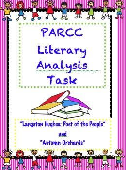 PARCC Like Assessment: Literary Analysis Task FREEBIE