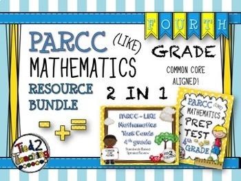 PARCC Like Mathematics (4th Grade) Resource Bundle