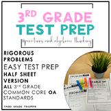 PARCC Math 3rd Grade OA Standards