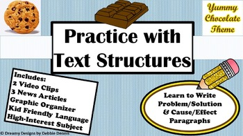 Problem/Solution Cause/Effect Text Structures Test Prep Ch