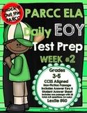 PARCC Test Prep End of Year Weekly Practice Set 2