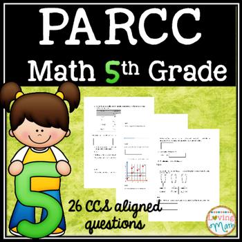 PARCC Test Prep Math  Grade 5