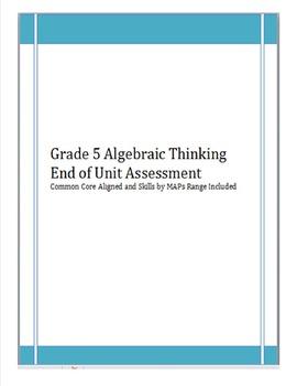 4th/5th Gr. Operations & Algebraic Thinking(4OAA1, 4OAA2,5