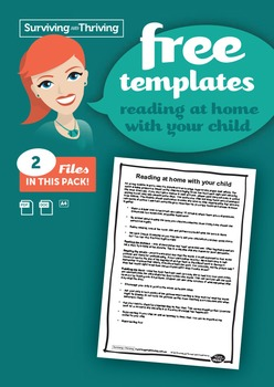 PARENT LETTER - Reading at home with your child.