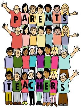 PARENT TEACHER CLIP ART