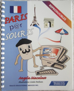 PARIS PAR SOURIS reproducible worksheets internet exercise