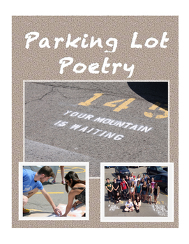 """PARKING LOT POETRY - Take a """"BRAKE"""" to Re-Verse Your Space!"""